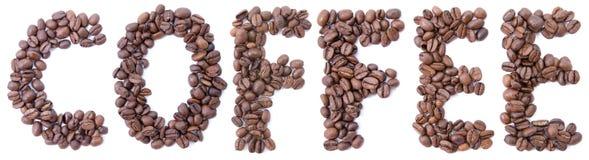 Esprima dal caffè dei fagioli Immagini Stock Libere da Diritti