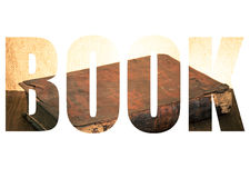 Esprima il LIBRO sopra il libro antico sulla vecchia tavola di legno modificato Immagini Stock Libere da Diritti