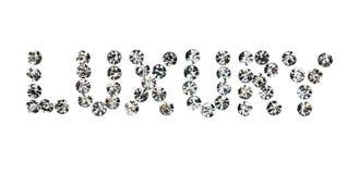 Esprima il lusso fatto dal ‹del †del ‹del †con i cristalli di rocca fotografia stock