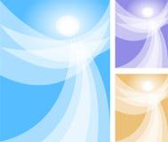 Esprit abstrait d'ange Image stock