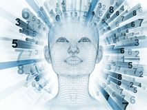Esprit artificiel Images libres de droits