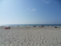 Esprit d'été sur la plage Images libres de droits