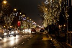 Esprit de Noël à Budapest Photos libres de droits