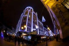 Esprit de Noël à Budapest Photo libre de droits