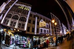 Esprit de Noël à Budapest Images stock