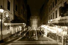 Esprit de Noël à Budapest Photo stock