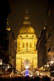 Esprit de Noël à Budapest Photographie stock