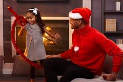 Esprit de Noël Photographie stock