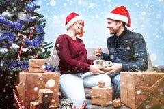 Esprit de Noël et de nouvelle année Concept des vacances et des jours Image libre de droits