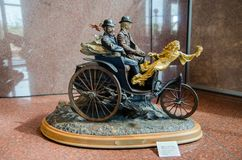 Esprit de sculpture en Mercedes par Stanley Wanlass 1985 photos stock