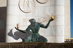 Esprit de statue de Detroit à Detroit du centre photos libres de droits