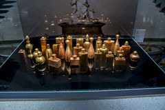 Esprit Dior wystawa przy Szanghaj muzeum dzisiejsza ustawa Fotografia Stock