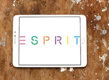 Esprit gatunku logo Zdjęcie Royalty Free
