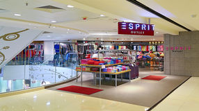 Esprit outlet hong kong Royalty Free Stock Photography