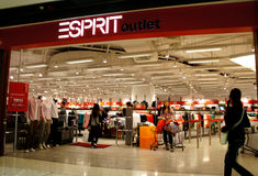 Esprit Outlets Stock Photos
