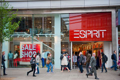 Esprit store in London, UK Royalty Free Stock Photography