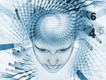 Esprit virtuel Image libre de droits