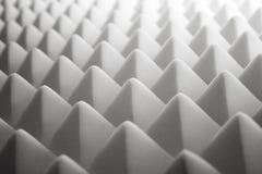Espuma acústica imágenes de archivo libres de regalías