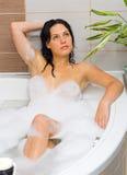Espuma-banho Imagens de Stock