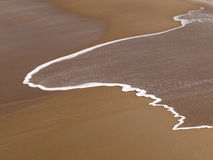 Espuma da praia Foto de Stock Royalty Free