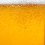 Espuma de la cerveza Imagen de archivo