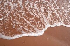 Espuma de la playa Fotografía de archivo