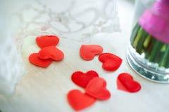 Espuma del corazón Foto de archivo libre de regalías