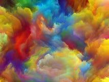 Espuma del fractal imagenes de archivo