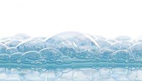 Espuma del jabón Imagen de archivo libre de regalías