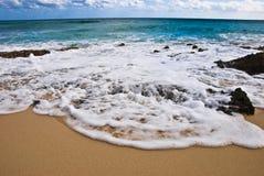 Espuma del mar Fotos de archivo
