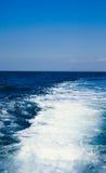 Espuma del mar Fotografía de archivo libre de regalías