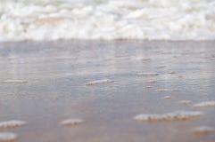 Espuma del mar Báltico Imágenes de archivo libres de regalías