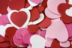 Espuma do coração Fotografia de Stock