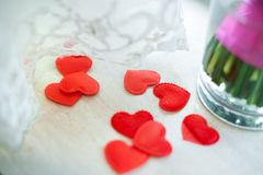 Espuma do coração Foto de Stock Royalty Free