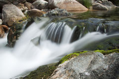 Espuma en agua Fotografía de archivo libre de regalías