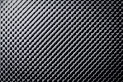 Espuma gris negra ac?stica de la prueba de los sonidos que absorbe foto de archivo