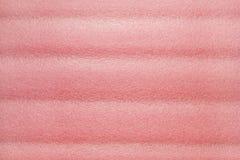 Espuma plástica rosada foto de archivo libre de regalías