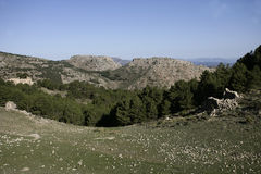Espuna mountain, National Park, Royalty Free Stock Image