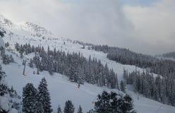 esquí Imágenes de archivo libres de regalías