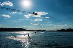 Esquí acuático Fotografía de archivo libre de regalías