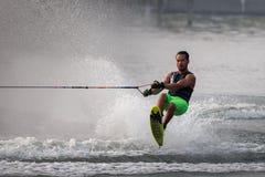 Esquí acuático nacional 2015 y Wakeboard de los campeonatos de la taza de Putrajaya Imagen de archivo libre de regalías