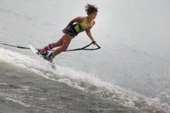 Esquí acuático nacional 2015 y Wakeboard de los campeonatos de la taza de Putrajaya Fotografía de archivo