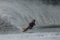 Esquí acuático nacional 2015 y Wakeboard de los campeonatos de la taza de Putrajaya fotos de archivo