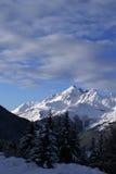 Esquí de Bormio Imágenes de archivo libres de regalías