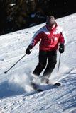 Esquí de la montaña imagenes de archivo