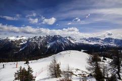 Esquí de Marileva   Imagen de archivo