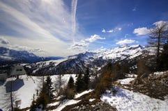 Esquí de Marileva Foto de archivo