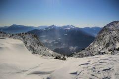 Esquí de Paganella Foto de archivo libre de regalías