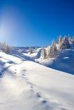 Esquí de Paganella Foto de archivo