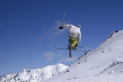 Esquí del estilo libre Imagen de archivo libre de regalías